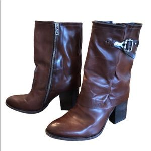 Free People AS98 Leather Boots size 39